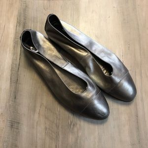 Vintage Aerosoles Leather Slip on Flats Size 10